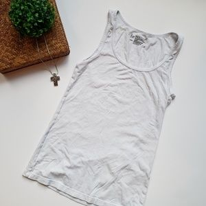 Like New White Tank Top